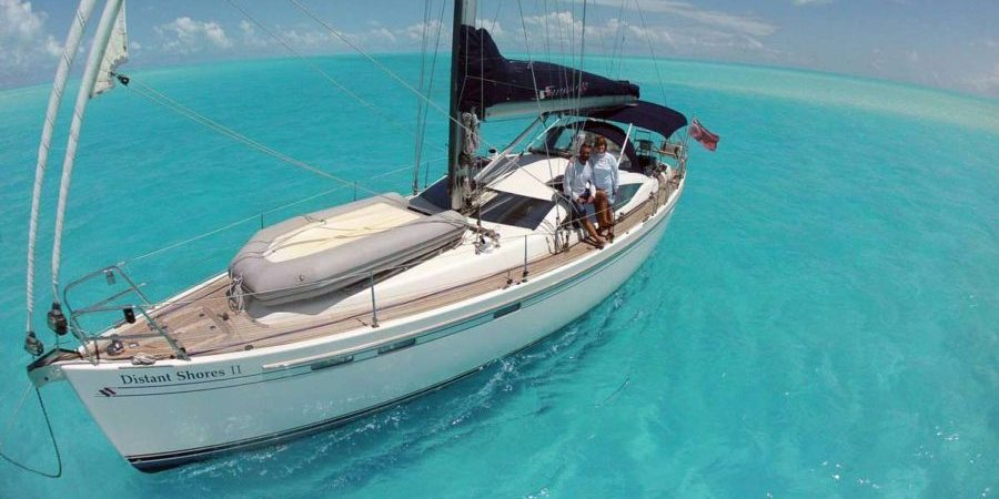 "Photo of Paul and Sheryl Shard: ""Sailing is freedom, adventure and beauty"""