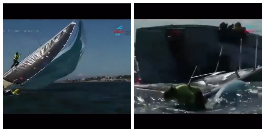 Photo of An amazing double video: how to drop the spinnaker (Russian method)