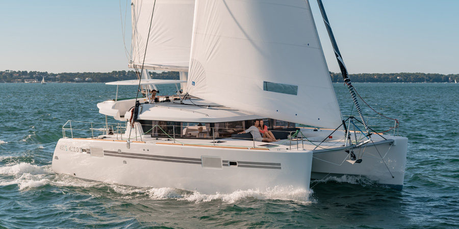 Photo of A sailboat in pictures: Lagoon 450 SportTop