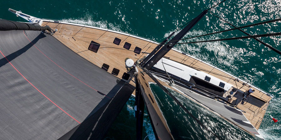 Photo of A sailboat in pictures: Mylius 76 FD, italian style