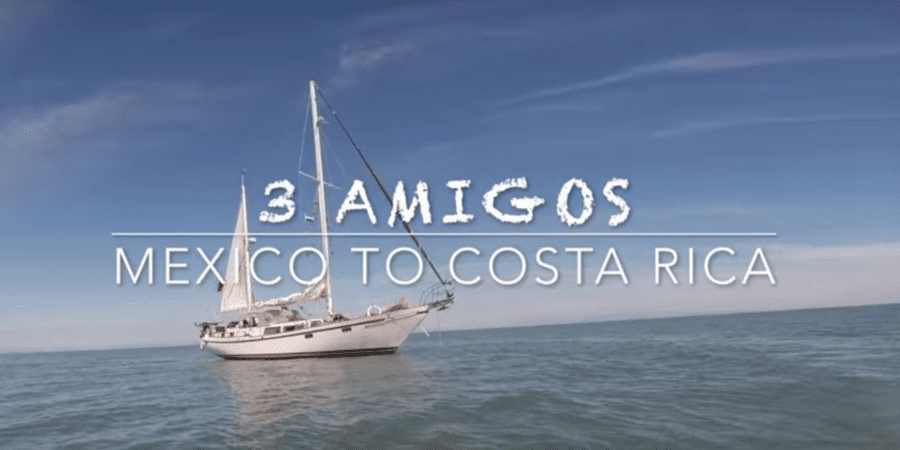 Photo of Sailing Mexico to Costa Rica aboard the sailboat Maiatla II. VIDEO