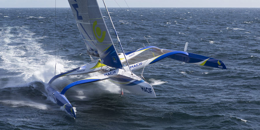 Photo of Mediterranean Record Challenge: the trimaran MACIF on stand-by from 3 October