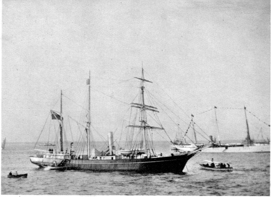 nimroddepartingtosouthpole1907
