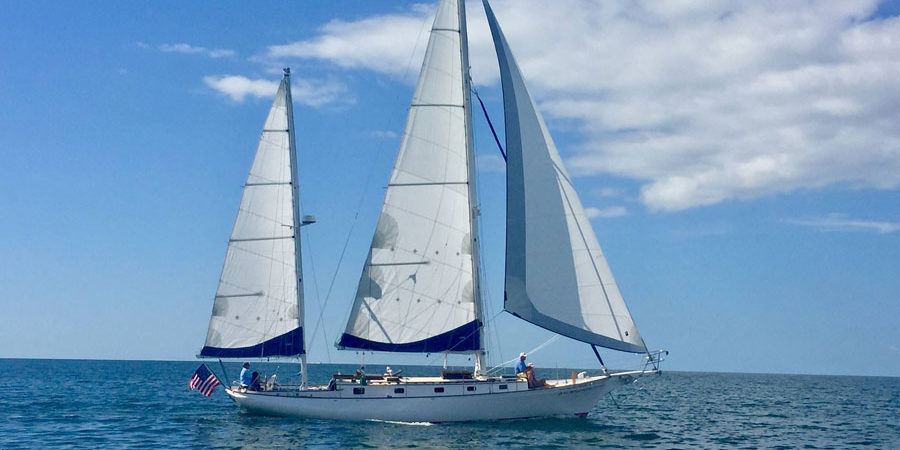 Photo of Cherubini 44 Alliance: The Maiden Voyage narrated… by a crew member!