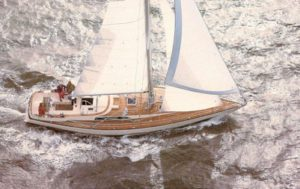 The above photo is a brochure photo of a sister ship.-Before the stern modifications.