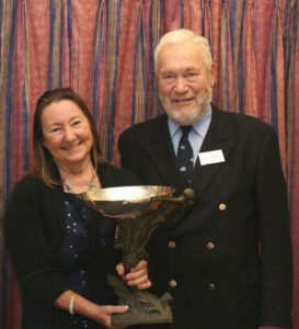 Jeanne and Sir Robin Knox-Johnston