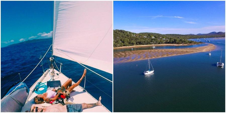 Photo of Sailing Nandji: Sunday, the day to relax…