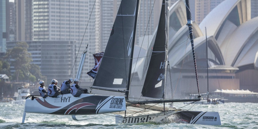 Photo of Well done Alinghi! Swiss team takes overall Extreme Sailing Series title