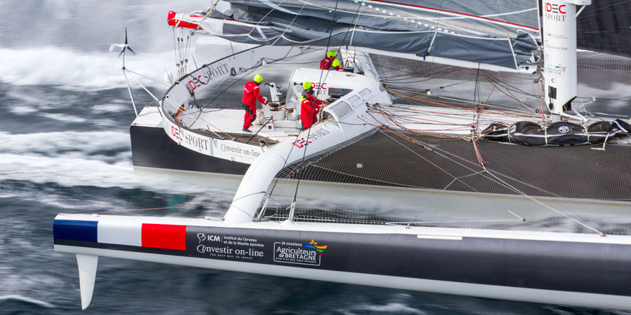 Photo of IDEC Sport: Straight on and out of the Southern Ocean?