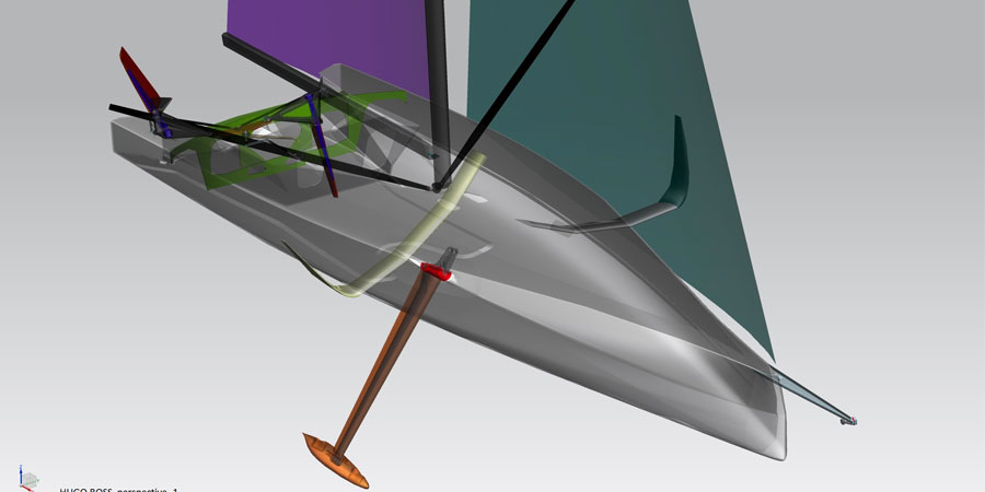"""Photo of Guillaume Verdier: """"How the Imoca boats changed since 2007"""""""