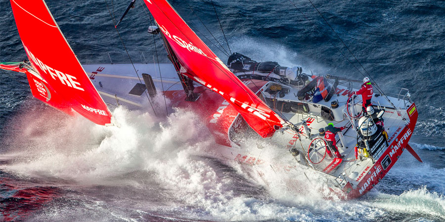 Photo of Welcome Back MAPFRE. Are you ready for another Volvo Ocean Race challenge?