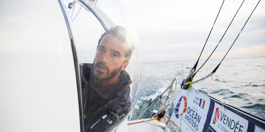 Photo of Louis Burton, the youngest skipper to start the Vendée Globe, secured seventh place!