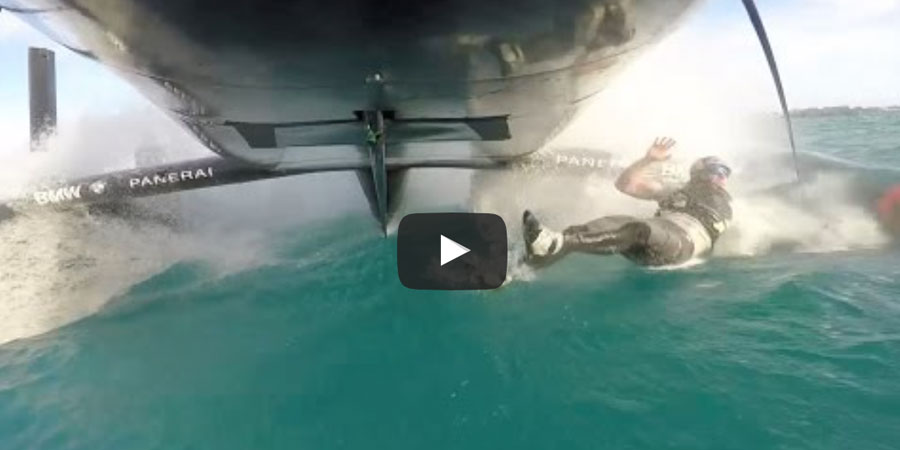 Photo of Man overboard: the longest two seconds… VIDEO