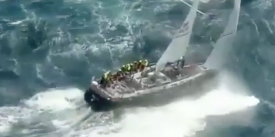 Photo of The most viral sailing video of the year comes from the past