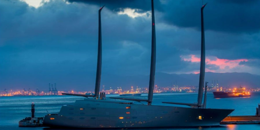 Photo of Futuristic Sailing Yacht A arrested in €15.3m claim!