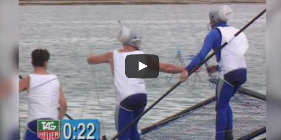 Photo of From the Vault: Sailors Talking Dirty during 18 foot skiff races. VIDEO