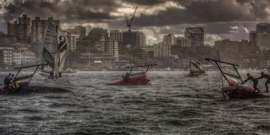 """Photo of PHOTO OF THE WEEK Is it a regatta or… """"The day after tomorrow""""?"""