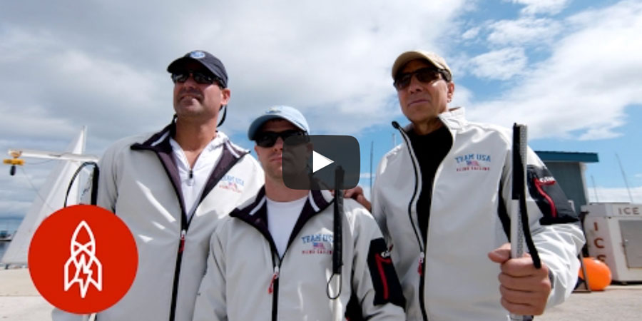 Photo of Blind at the Bow: These Sailors Navigate with Sound