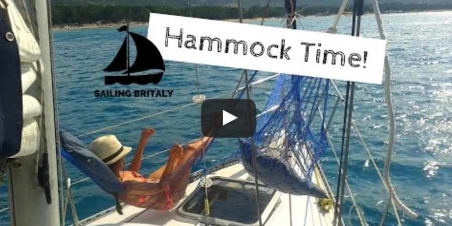 Photo of How to fit a hammock (or two) on a small sailboat
