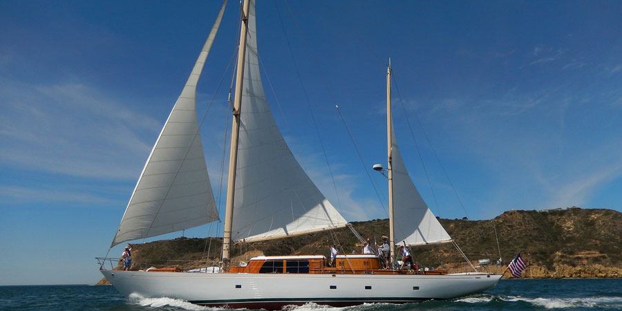 Photo of Tatoosh: A Beautiful 80′ Ketch and her History. VIDEO