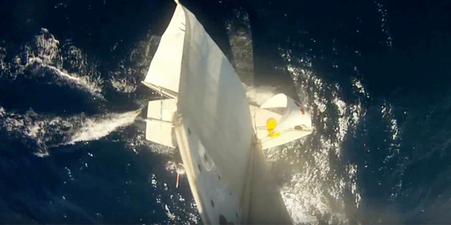 Photo of A single-handed sailing from Slovenia to Albania and back on Laser 2