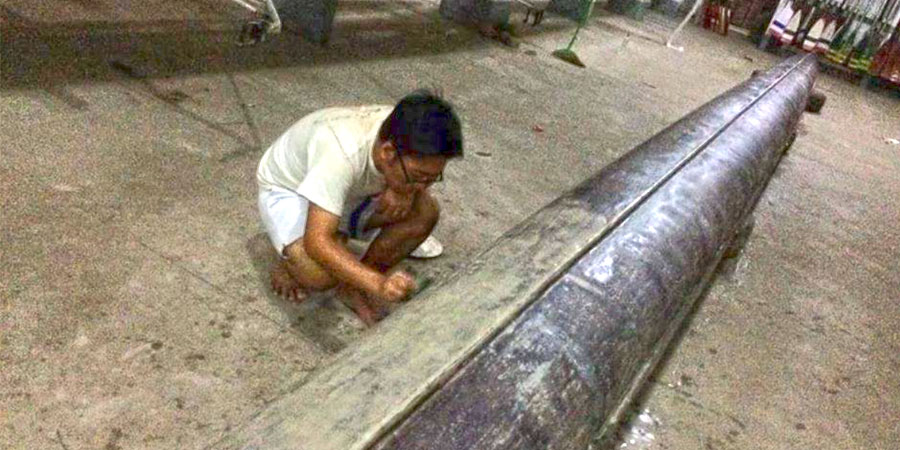 Photo of Kyaw Htet Aung: Boat Building and… Crocodiles