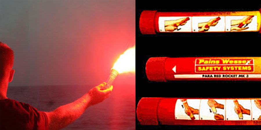 Photo of Five Steps to Use a Marine Flare in an Emergency