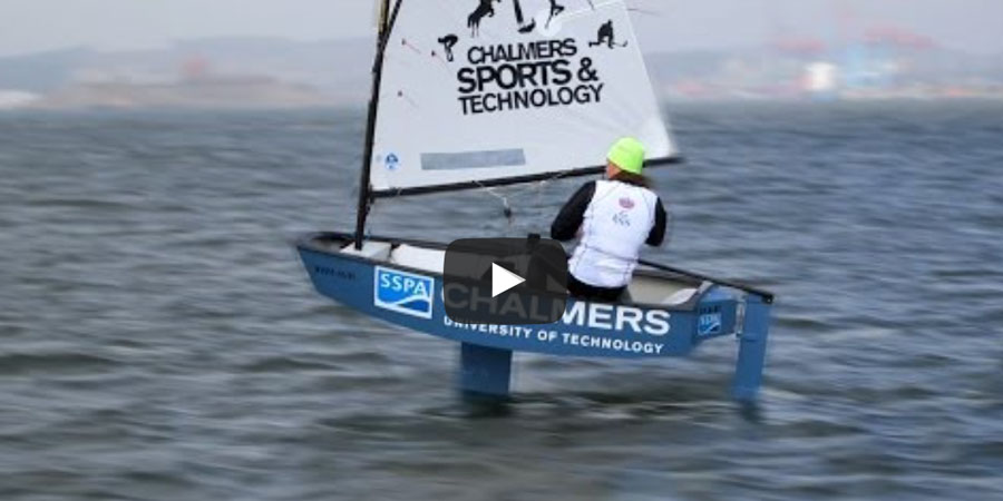 Photo of Graphene and hydrofoils gives optimist dinghy… superpowers!