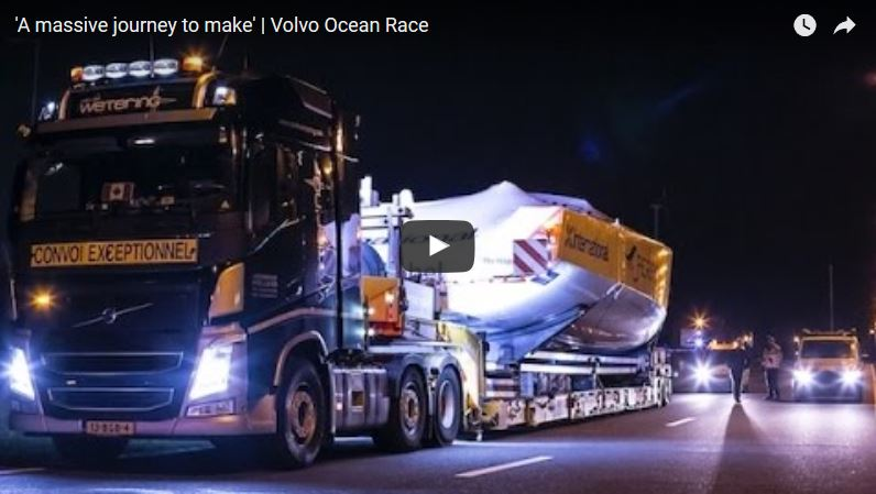 Photo of How to Transport a Volvo Ocean 65 from Italy to Lisbon… by Truck!