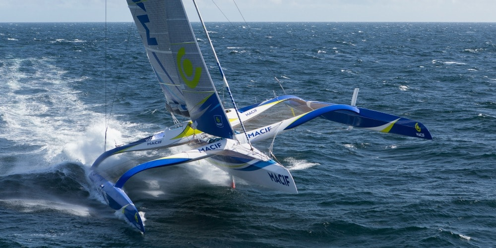 Photo of How different  it is to sail with a crew on board the 30m MACIF trimaran
