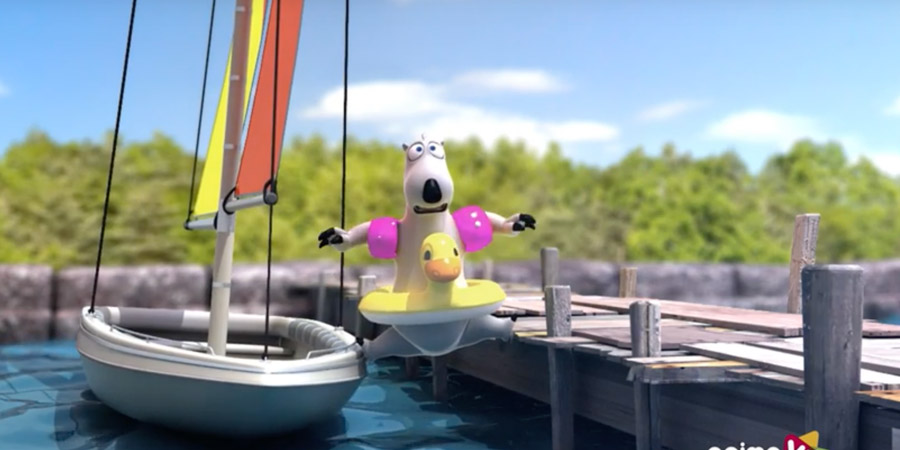 Photo of Wind won't blow and you need to go sailing? Bernard Bear tries to find an alternative