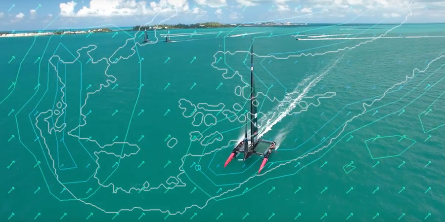 Photo of Finding the Optimal Course for the 35th America's Cup Race. VIDEO
