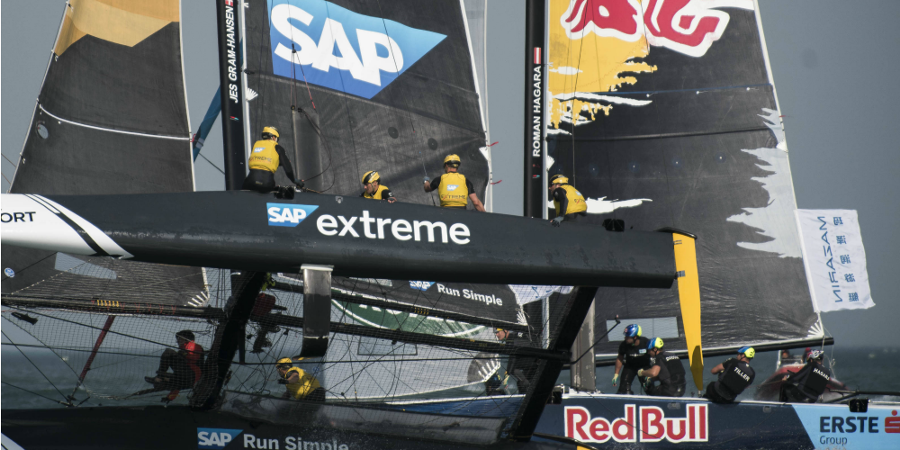 Photo of Extreme Sailing Series: Alinghi triumphs in Qingdao
