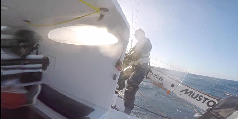 Photo of Phaedo³ breaks the Transpacific World Speed Sailing Record. VIDEO
