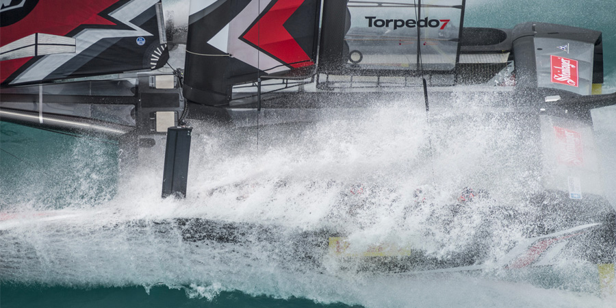 Photo of America's Cup: Emirates Team New Zealand picks Land Rover BAR