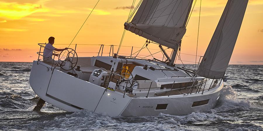 European yacht of the year Jeanneau 440