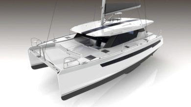 Photo of Hard-top or flybridge? Leopard Catamarans launches the Leopard 50