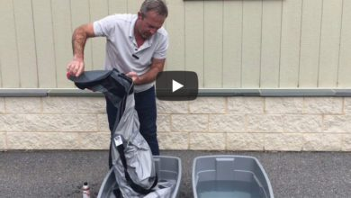 Photo of How to Clean and Apply DWR to a Sailing Dry Suit. VIDEO
