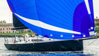 Photo of J/Boats J/121, how to handle a 40′ with 5 or fewer crew