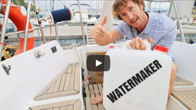 Photo of Sailing Britaly: You DON'T Need a Watermaker to 'Live' at Anchor!
