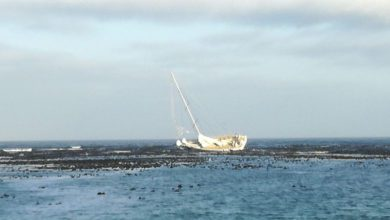 Photo of Crew Rescued after Yacht runs aground in Clipper Round the World Yacht Race