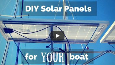 Photo of Sailing Britaly: How to Fit Solar Panels to Your Boat!