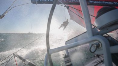 Photo of Volvo Ocean Race: Fast and Frightening First Night at sea
