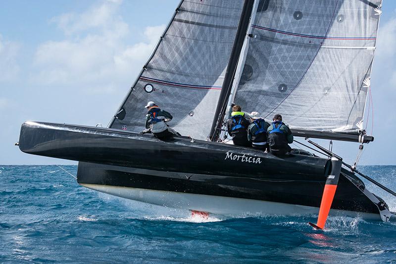 St. Maarten Heineken Regatta sail universe