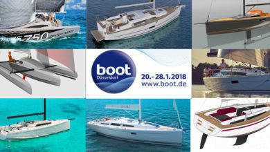 Photo of 8 Sailboats under 40ft to See at Boot Dusseldorf 2018