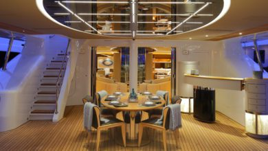 Photo of Videoworks reveals their Lighting Design Project for 60m Perini Navi Seven