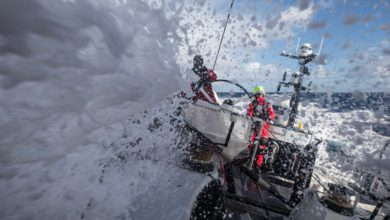 Photo of Team Sun Hung Kai/Scallywag: man overboard 1,400 miles west of Cape Horn