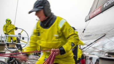 Photo of Volvo Ocean Race Leg 9: Team Brunel lead the Southerly Group