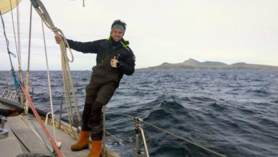 """Photo of Sailing Antarctica: """"My 'Paradise'… loneliness and cold temperatures"""""""