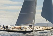 Photo of Sonny III, the new High-Performance Sloop by Brooklin Boat Yard